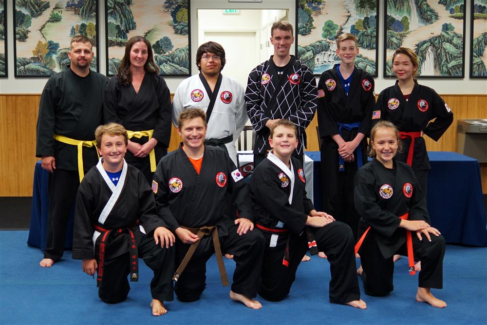 Quest Hapkido Belt Testing & Promotions, August 2017