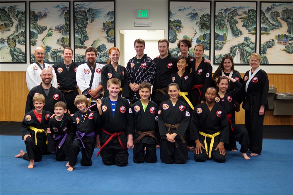 Quest Hapkido Belt Testing & Promotions, October 2017