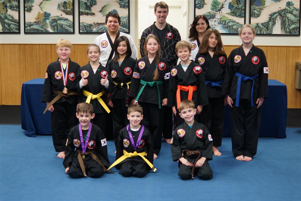 Quest Hapkido Belt Testing & Promotions, January 2018