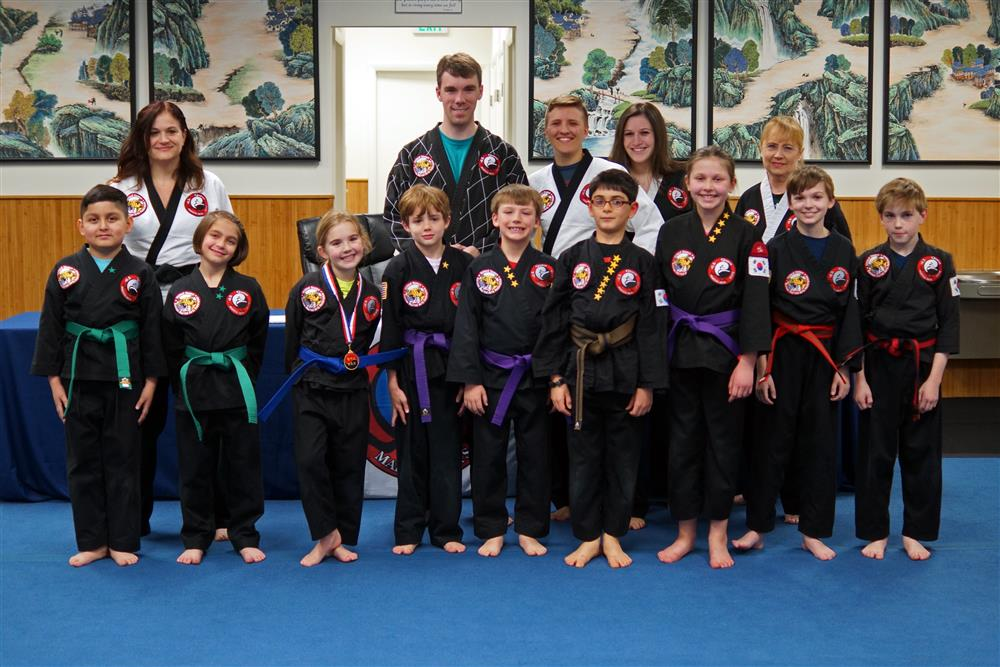 Quest Hapkido Belt Testing & Promotions, March 2018