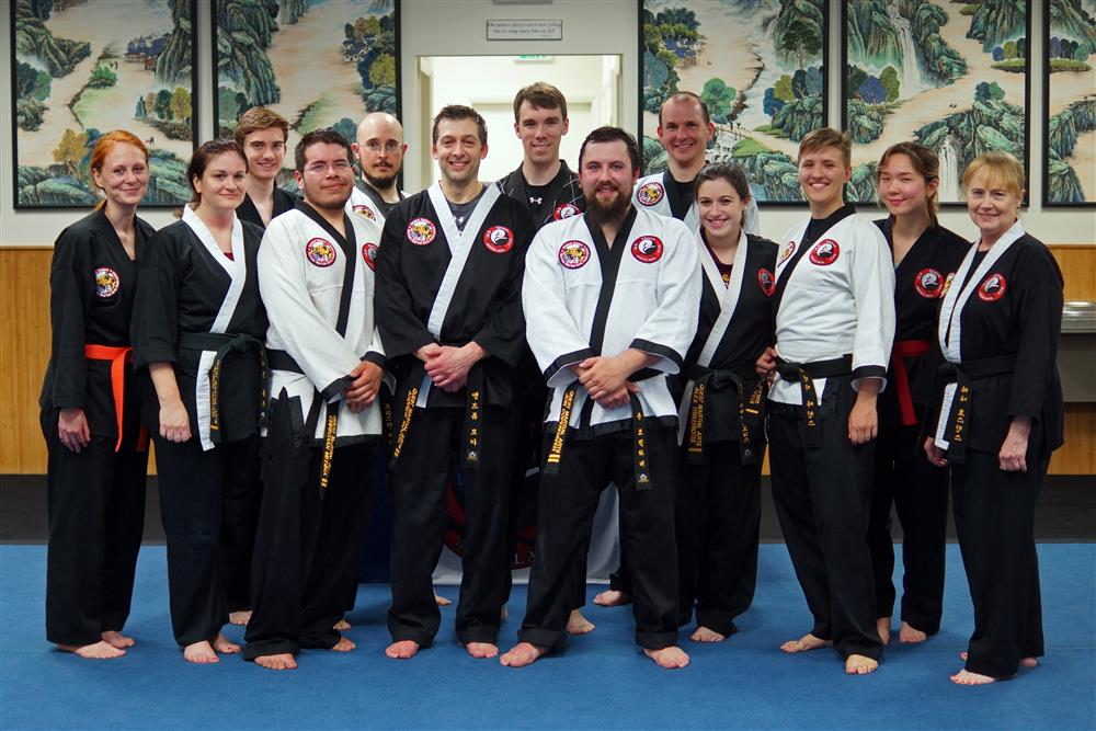 Quest Hapkido Belt Testing & Promotions, April 2018