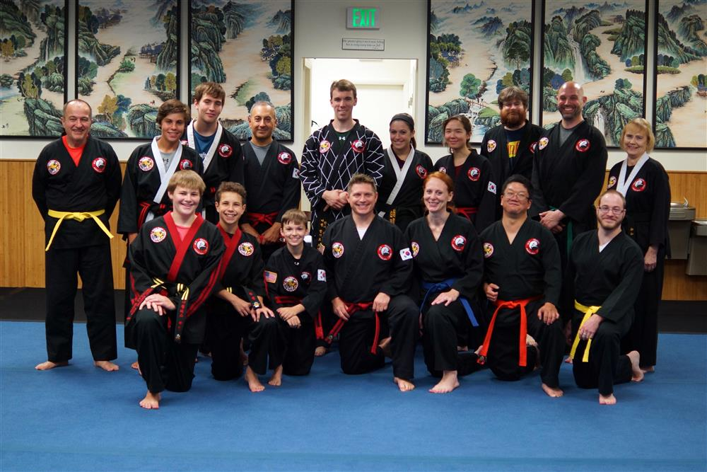 Quest Hapkido Belt Testing & Promotions, July 2018