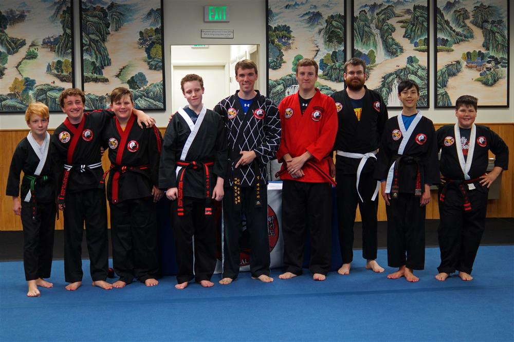Quest Hapkido Belt Testing & Promotions, August 2018