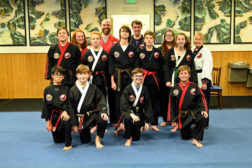 Quest Hapkido Belt Testing & Promotions, November 2019