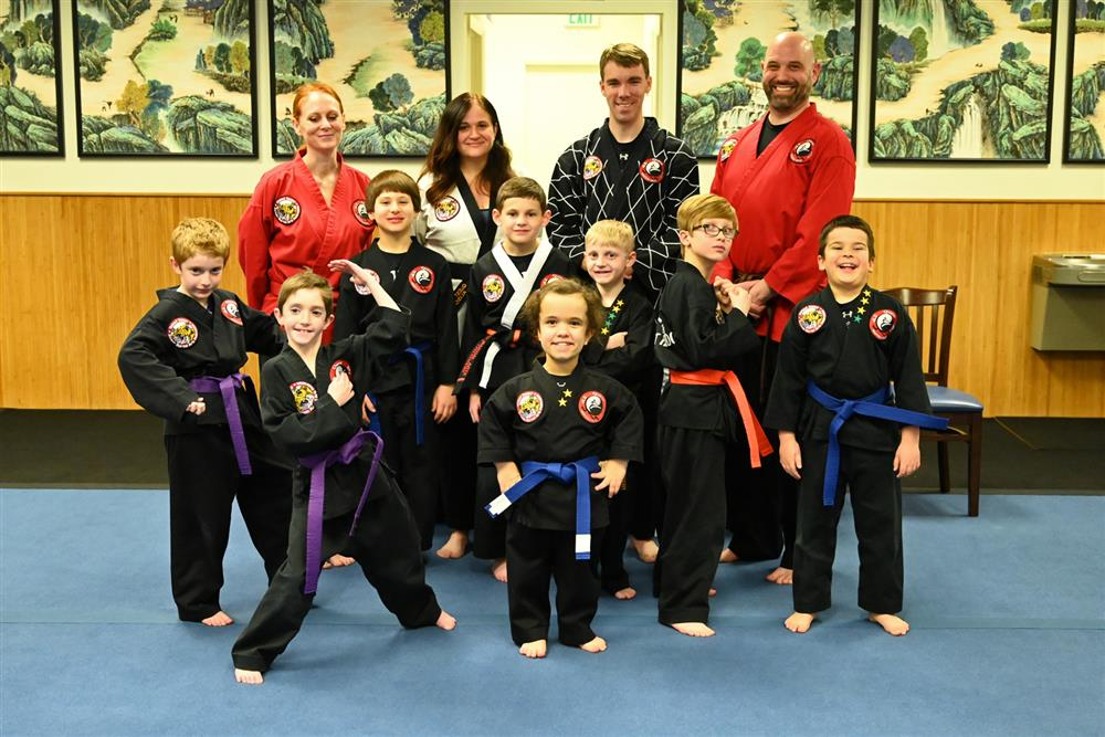 Quest Hapkido Belt Testing & Promotions, December 2019