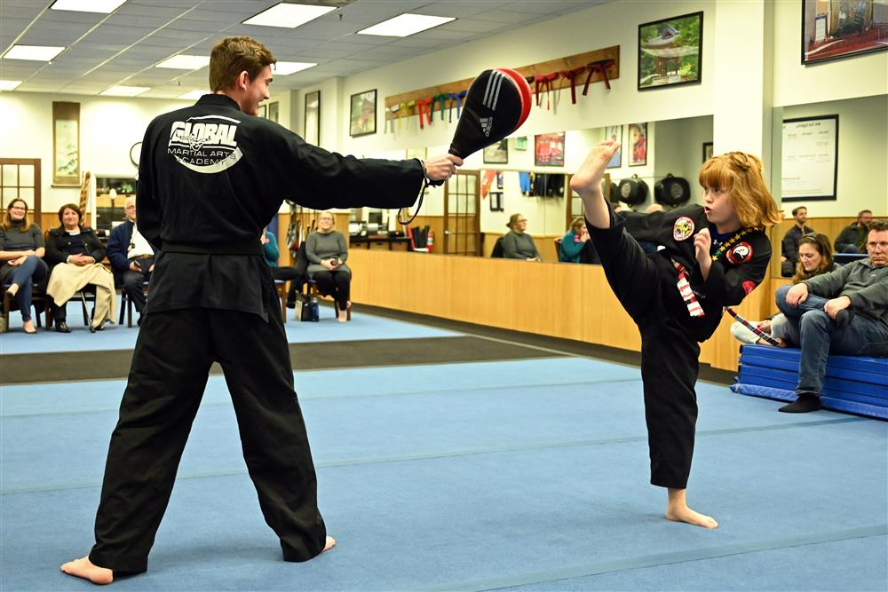 Quest Hapkido Belt Testing & Promotions, February 2020
