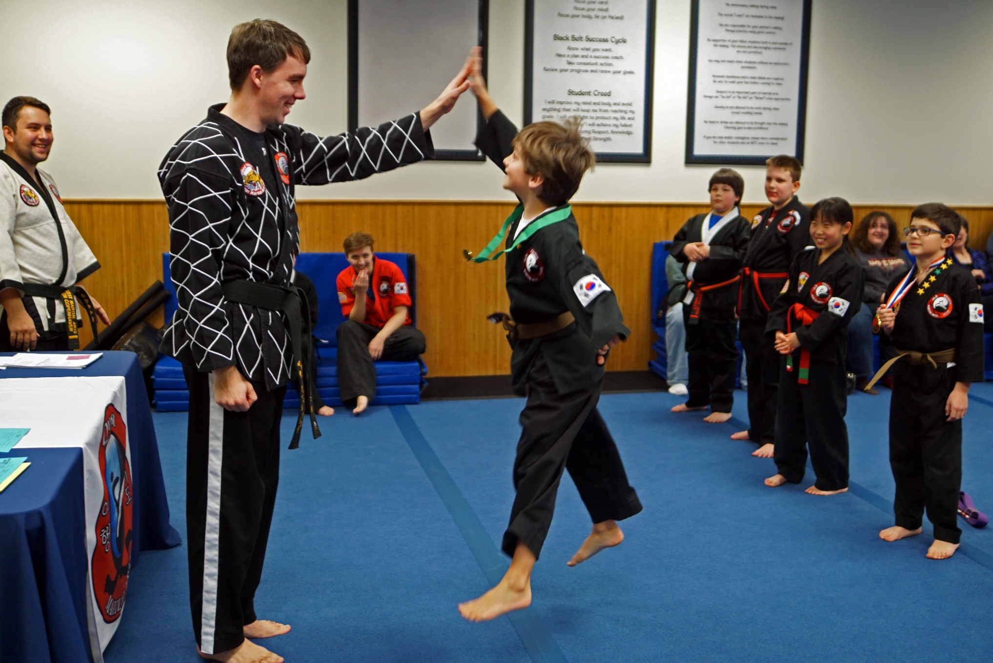 Quest Martial Arts:  Programs offered
