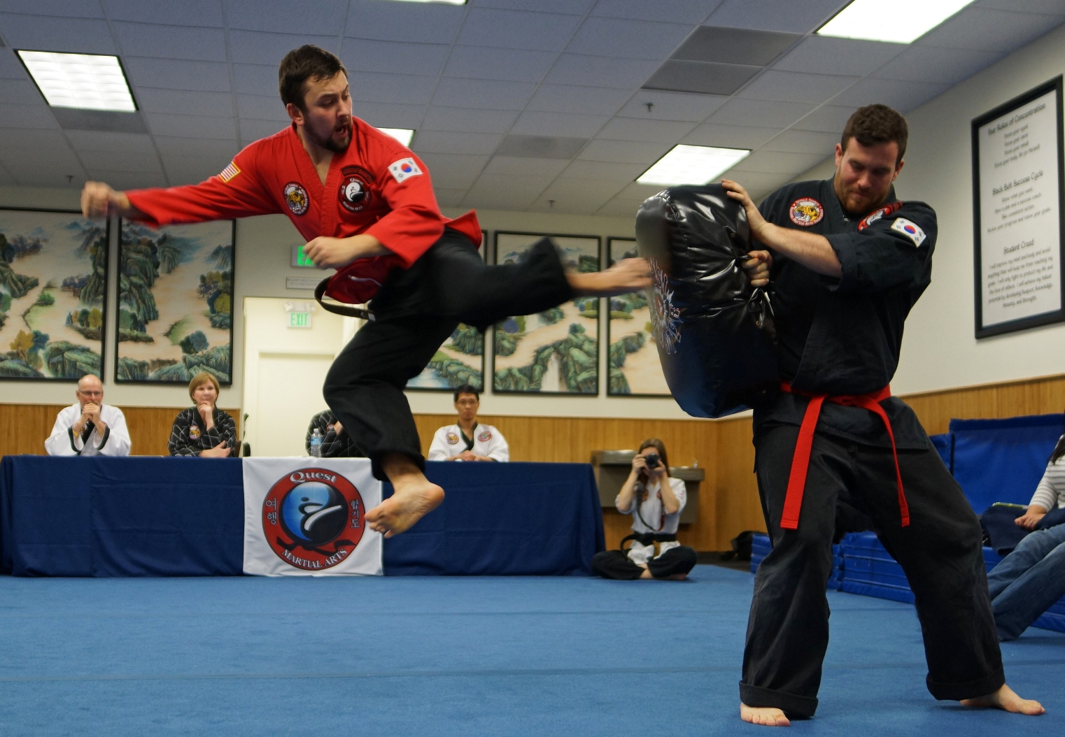 Quest Martial Arts Program Benefits