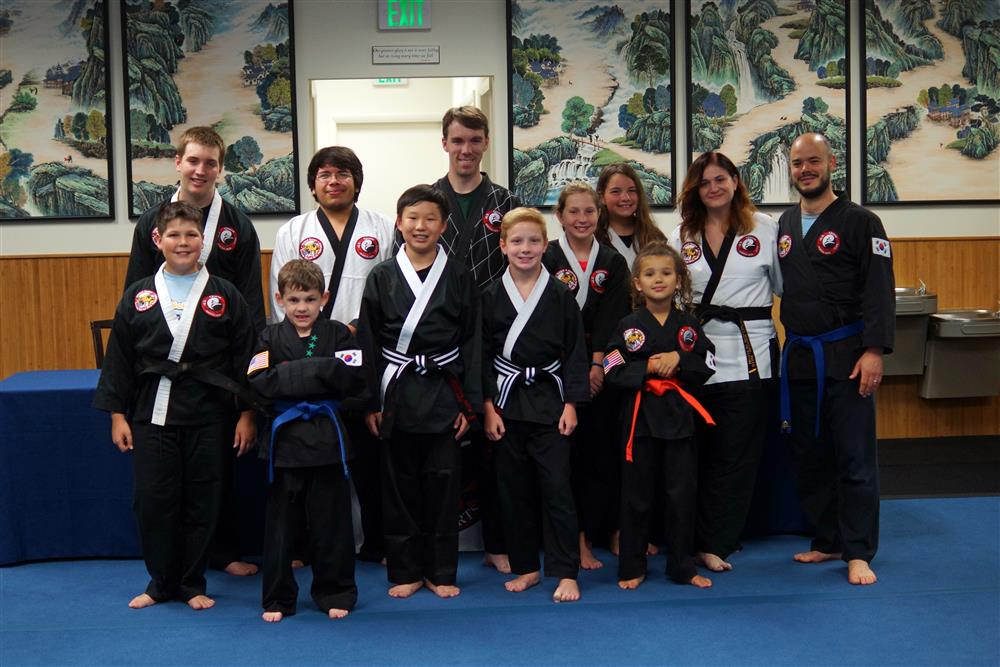 Quest Hapkido Belt Testing & Promotions, July 2017