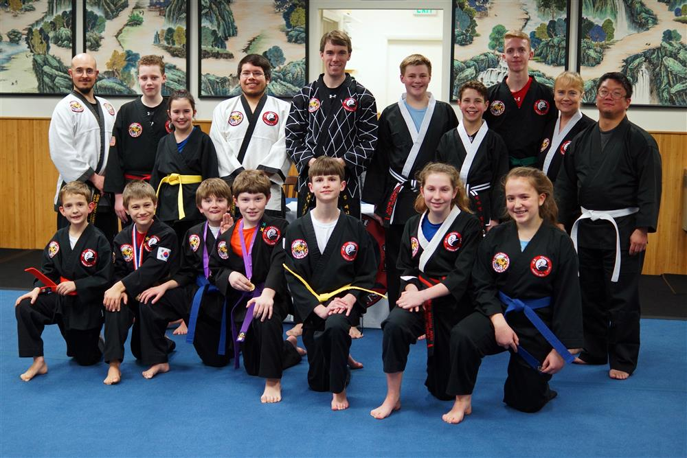 Quest Hapkido Belt Testing & Promotions, February 2018