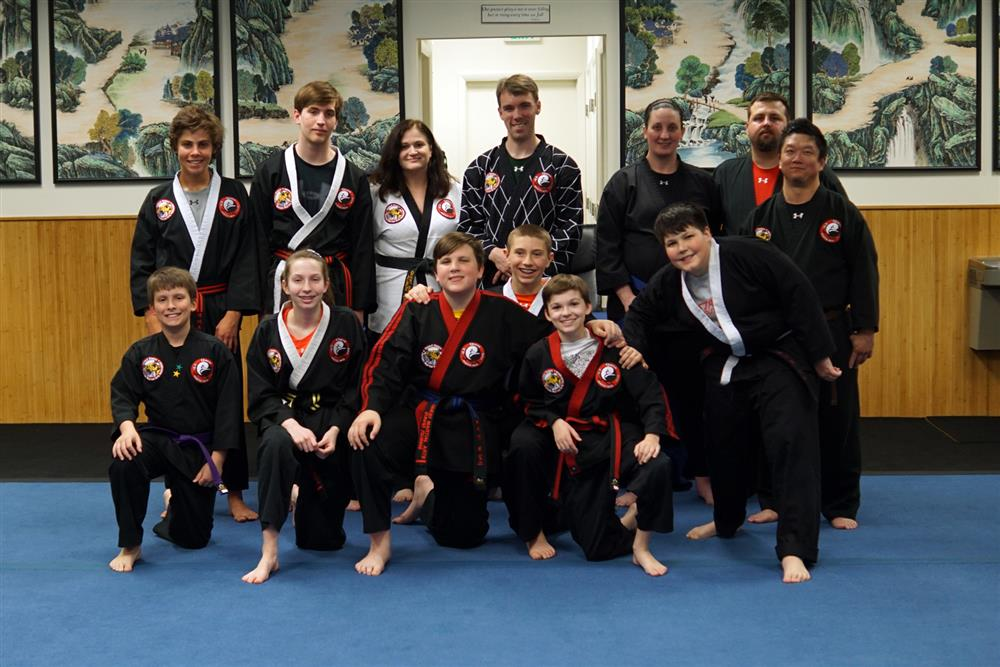 Quest Hapkido Belt Testing & Promotions, April 2019