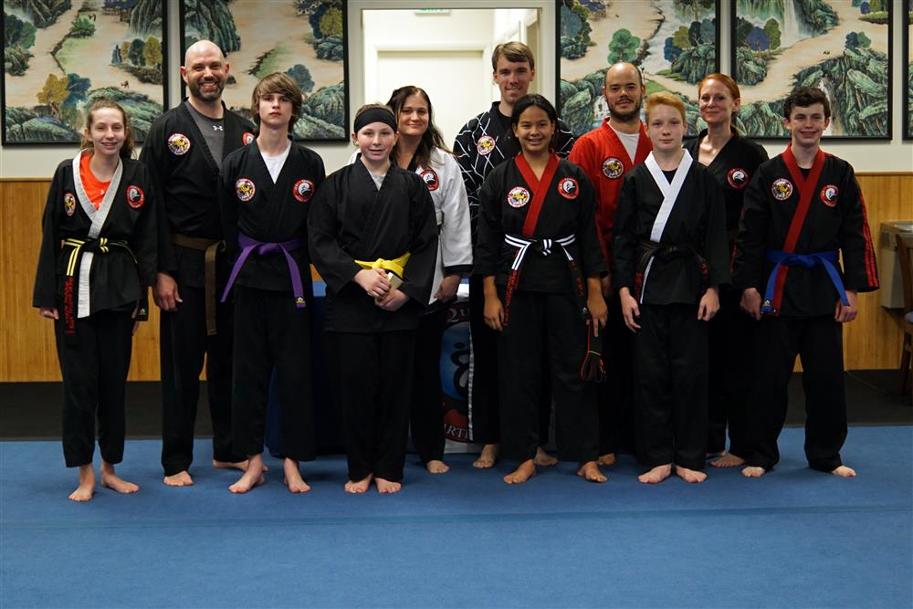 Quest Hapkido Belt Testing & Promotions, May 2019